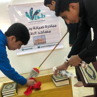 مبادرة صيانة وتنظيف المساجد في الطرق